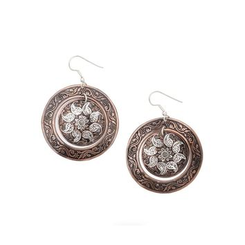 Samaira Metal Earrings - Matr Boomie (Jewelry)