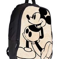Mickey Mouse Old Vintage Spotlife for Backpack / Custom Bag / School Bag / Children Bag / Custom School Bag *02*