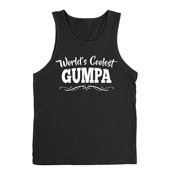 World's coolest gumpa Father's day birthday gift ideas for new grandpa proud grandfather gifts for him Tank Top