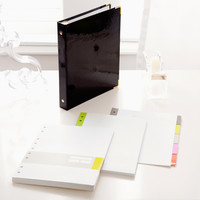Russell+Hazel Mini 3-Ring Binder-Patent