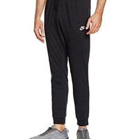 Nike Mens Cuffed Jogger Cotton Jersey Light Sweatpants