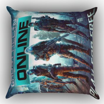 Ghost Recon Online Play For Free Z1253 Zippered Pillows  Covers 16x16, 18x18, 20x20 Inches
