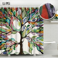 Plants Style Shower Curtain