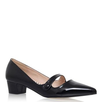 **Audrina Black Low Heel by Miss KG - Shoes