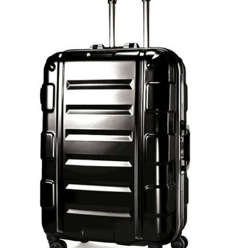 "Samsonite Cruisair Bold 26""Hardside Spinner Suitcase Black"