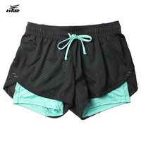 Running Shorts for Women, Double Layer