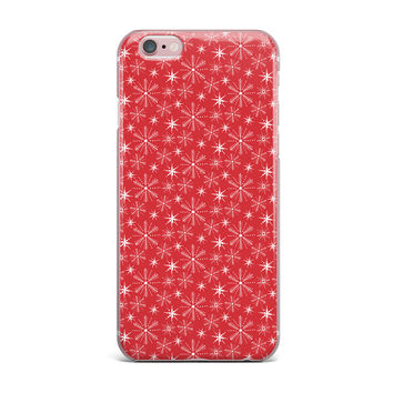 "Julie Hamilton ""Snowflake Berry"" Holiday iPhone Case"