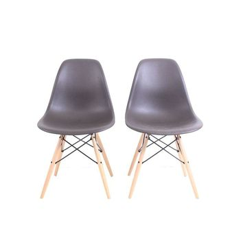 Pre-owned Herman Miller Eames Molded Plastic Side Chairs