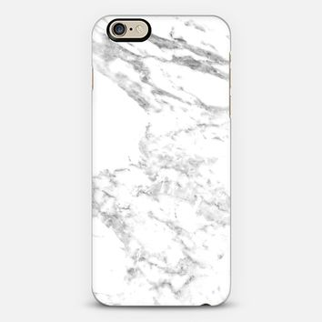 White Marble iPhone 6s case by BoundLove | Casetify