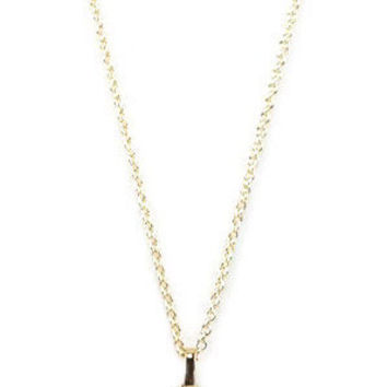 Gypsy Ball Diffuser Necklace - Gold