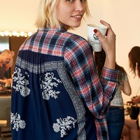 Free People Behind The Flannel Buttondown