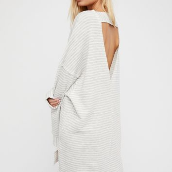 Free People Cloudy Stripe Pullover