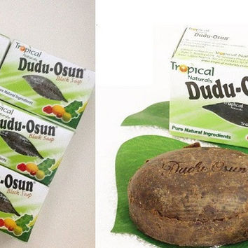 Dudu-Osun African Natural Handmade Black Soap