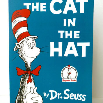 Dr Seuss, Cat in the Hat Book Birthday Invitations!  Dr Seuss, Cat in the Hat, Thing 1, Thing 2, Birthday Invites, Invitations, One I Am!