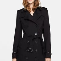 Women's Burberry London Double Breasted Trench Coat