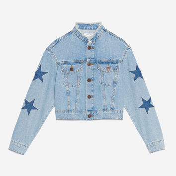 Short Star Denim Jacket