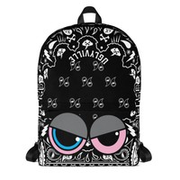 Black Bandana Backpack