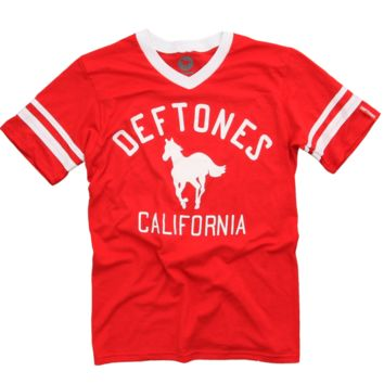 Classic White Pony Red Jersey T-Shirt