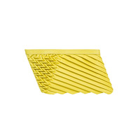 ONLINE EXCLUSIVE: 80571 S Power Clutch: Lime yellow Lambskin