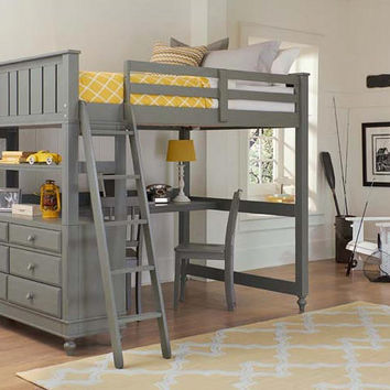 Boardwalk Full Size Study Loft Bed