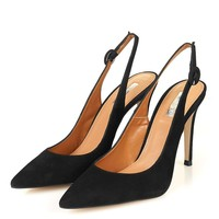 GOLDY Slingback Court Shoes - New In Shoes - New In