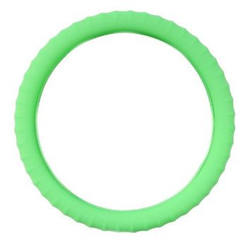 New SILICONE Neon Green-Glow in the Dark-Car Steering Wheel Cover By Cameleon