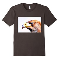 Watercolor Eagle TShirt, Love Eagles Graphic Tee Shirt