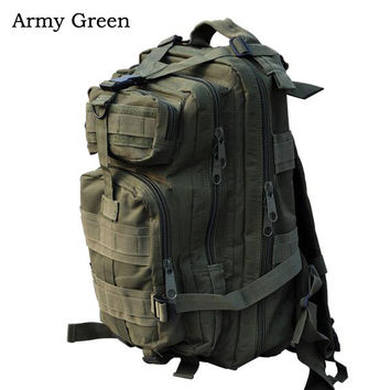 Outdoor Military Tactical Backpack Camping Hiking Trekking Rucksack Day Pack Bag