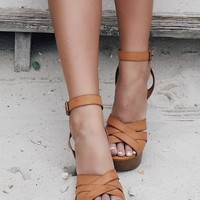 No Promises Tan Heels