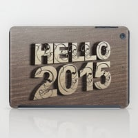 HELLO 2015 ! iPad Case by Nirvana.K
