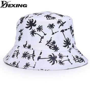 [Dexing] fashionable unisex Panama bucket hats for men women  panama boonie hunting fishing outdoor cap fisherman hat bucket hat