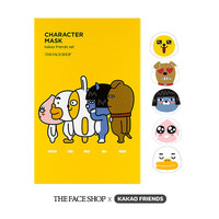 [THE FACE SHOP] Character Mask Kakao Friends Set