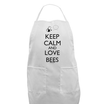 Keep Calm and Love Bees Adult Apron