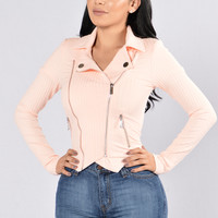 Ashton Jacket - Blush