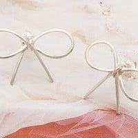 simple style earrings,  bowknot earrings, charm earring  EH47