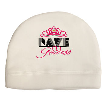 Rave Goddess Adult Fleece Beanie Cap Hat