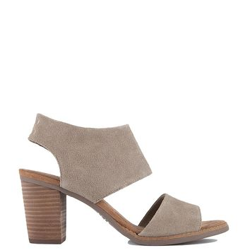 Toms Majorca Cutout Sandal in Desert Taupe