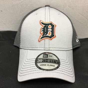 ESBON MLB Detroit Tigers Men's Grayed Out Neo Flex Hat