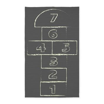 Hopscotch 3'x5' Area Rug on CafePress.com