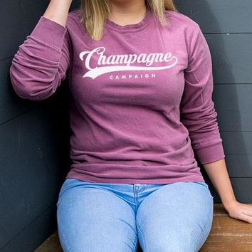 Champagne Campaign Long Sleeve