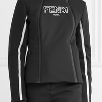 Fendi - Roma paneled ski jacket