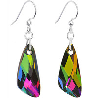 Crystal Chameleon Dangle Earrings MADE WITH SWAROVSKI ELEMENTS | Body Candy Body Jewelry
