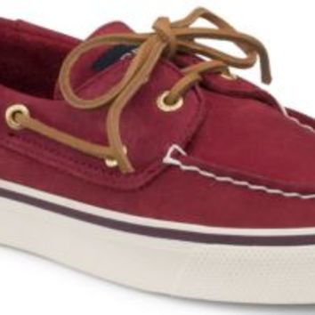 Sperry Top-Sider Bahama Washable 2-Eye Boat Shoe Red, Size 12M  Women's Shoes