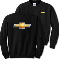 Chevrolet Bowtie Black Sweatshirt-Chevy Mall