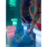 LED Pool Stool  @ Sharper Image