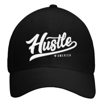 Hustle of America Logo Hat