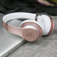 Beats Solo 3 Wireless Magic Sound Bluetooth Wireless Hands Headset MP3 Music Headphone with Microphone Line-in Socket TF Card Slot  G-A-GHSY-1