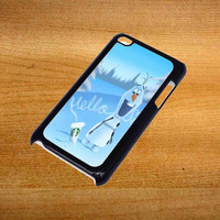 Hello olaf Starbucks For iPod Touch 4 Case *76*