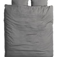 H&M - King/Queen Linen Duvet Set