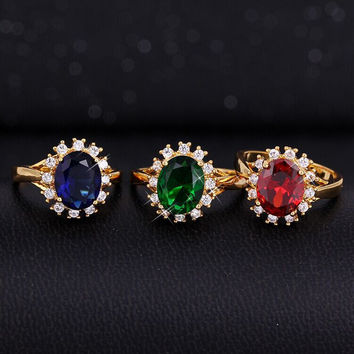 Engagement Ring Vintage Gemstone Star Accessory [6057429505]